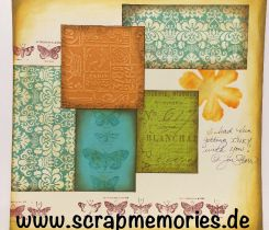 Scrapbooking Layout Tatternd Angels