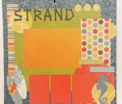 Scrapbooking Layout Strand