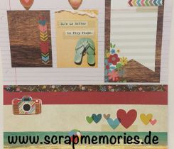 Scrapbooking Layout Sommer 1 Neu