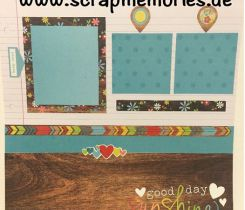 Scrapbooking Layout Sommer 2 Neu
