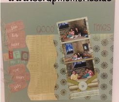Scrapbooking Layout Oma