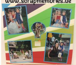 Scrapbooking Layout Neu