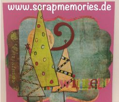 Scrapbooking Layout Winter
